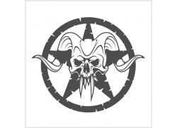 牛角怪兽T恤印花