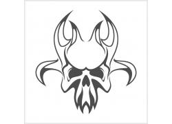 卡通怪兽骷髅T恤印花