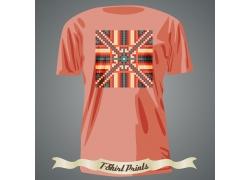 民族图案T恤印花设计