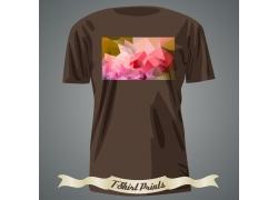 低多边形T恤印花设计