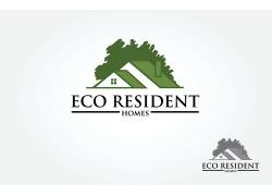 房子建筑装饰logo设计