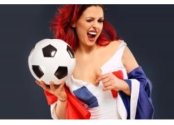 性感足球美女