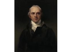 劳伦斯人物肖像油画写作