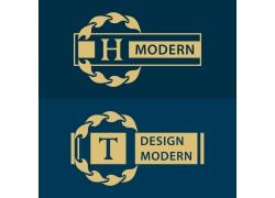 潮流字母logo设计