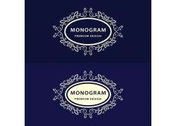 欧式花纹商标设计