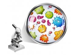 细菌与显微镜