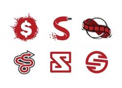 商务金融符号S标志