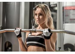 欧美女性健身摄影