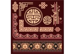 古典花纹素材