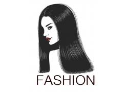 美发模特儿图片
