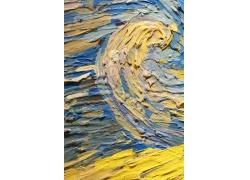 蓝色和黄色的水彩背景