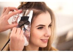 发型和女模特儿