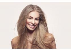 直发发型美女摄影