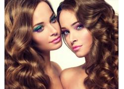 美容美发女模特儿摄影