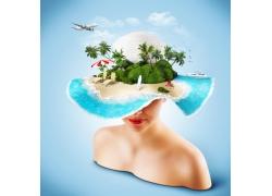旅游广告素材