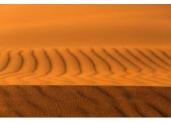 广阔的沙漠