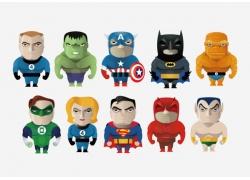 卡通超级英雄漫画图片