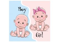 男宝宝女宝宝图片