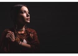 欧美女性模特写真