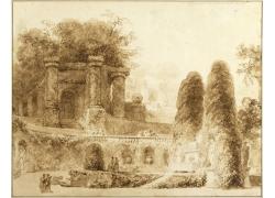 城堡植物素描