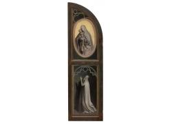 宗教人物雕塑油画