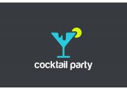 鸡尾酒logo设计