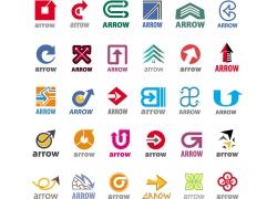 创意箭头商标设计