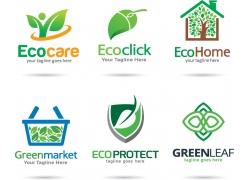 绿色生态环保标志设计