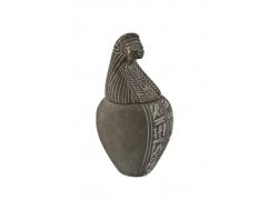 创意人物古董双耳瓶