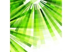 绿色立体条形背景