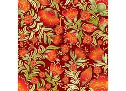 红色小花的背景