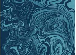 蓝色波纹背景