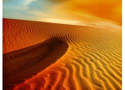 美丽沙丘景色