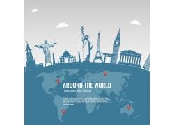 世界环球旅游图片