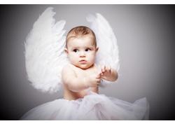 天使宝宝女孩图片