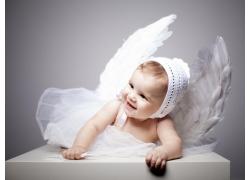 可爱天使女婴图片