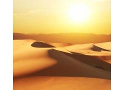 太阳下的沙漠