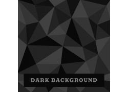 黑色立体方块背景