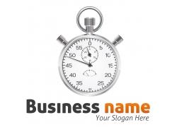 商务时间钟表标志