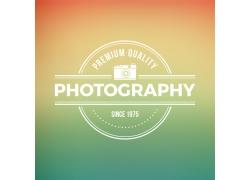 英文字母照相机标志