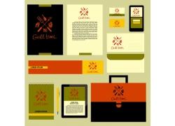 一套餐饮健康VI宣传模板