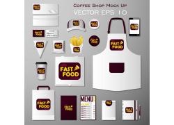 一套咖啡饮品VI宣传模板
