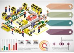 生产工厂3d立体效果图