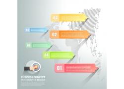 地图图表信息设计素材