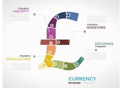 货币图表信息设计素材