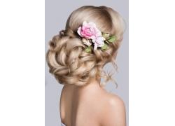 新娘发型素材