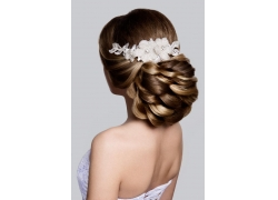 新娘发型摄影