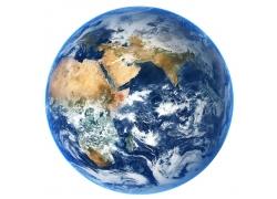 蓝色海洋地球仪模型