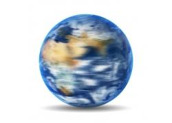 高速旋转的地球