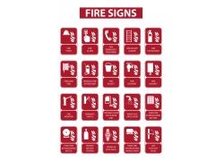 火灾逃生标示牌
